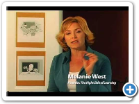 Right and Left Brain Learning - Melanie West, The Right Side of Learning